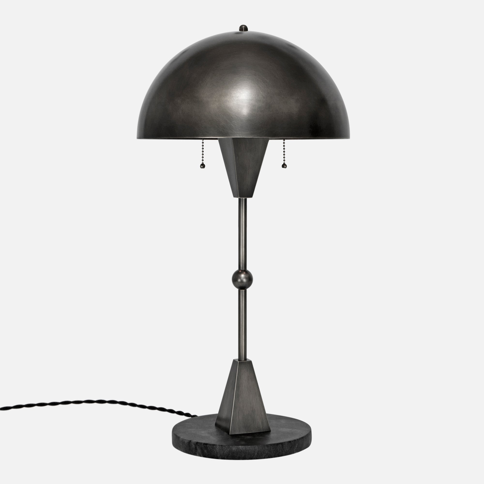 Dome Table Lamp Brass Dome Shade In Vintage Brass Flea Market Rx