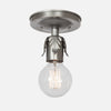 Fleurette Flush Mount Ceiling Light - Vintage Silver