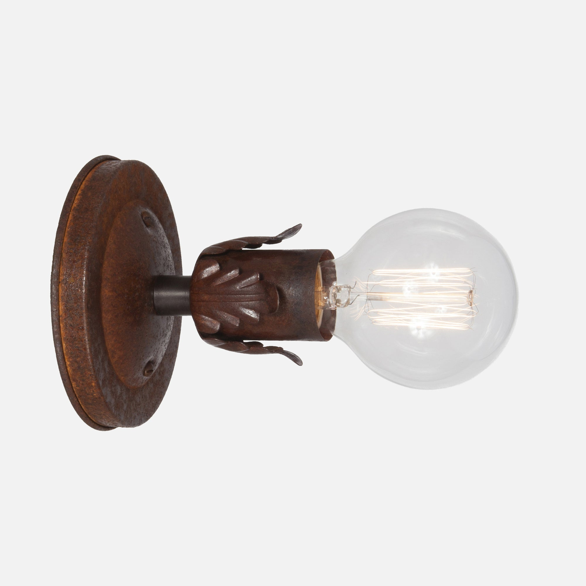 Fleurette Wall Sconce - Natural Rust