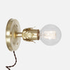 Fleurette Wall Sconce - Raw Brass - Plug-in