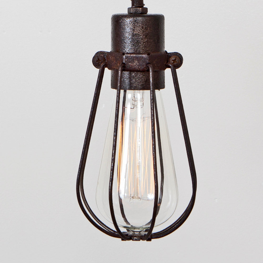 Oval Wire Bulb Cage - Lighting Accessory