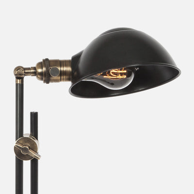 Otis Articulating Table Lamp - Factory Shade Detail