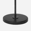 Otis Table Lamp with Honed Marble Base Detail