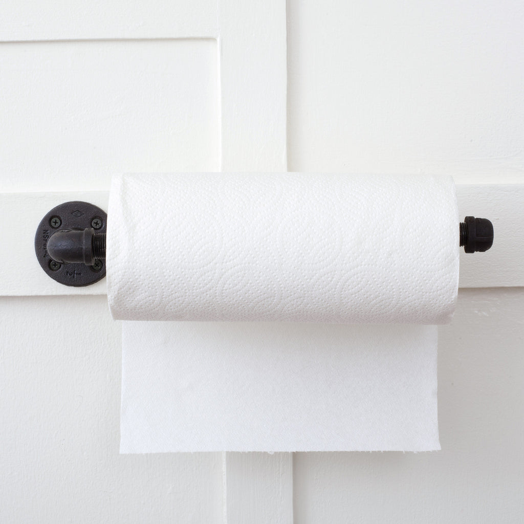 Plumbing Pipe Paper Towel Holder