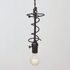 Vintage Bedspring Pendant Light