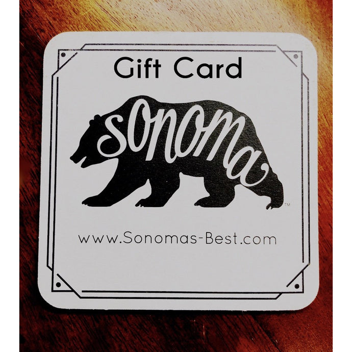 Sonoma's Best Gift Card
