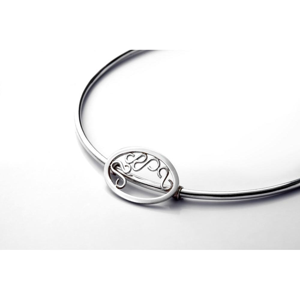 Telkari Oval Bangle