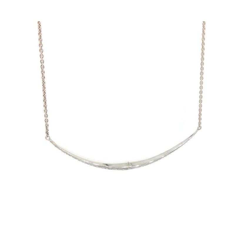 Telkari Trillion Bar Necklace
