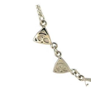 Telkari Trillion Triangular 5 Necklace