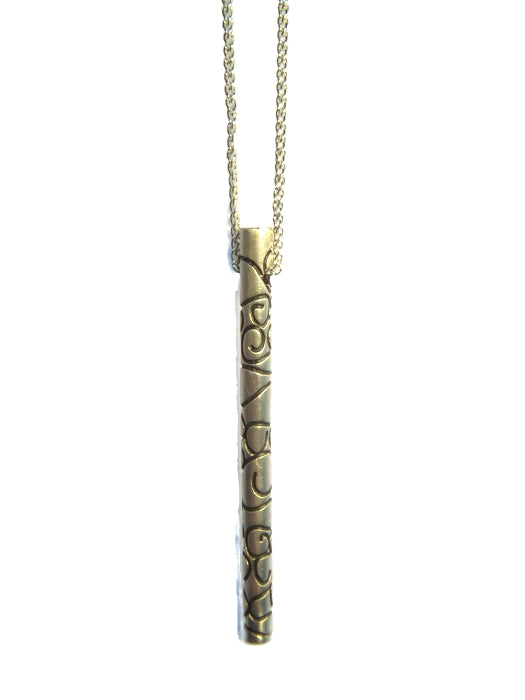 Telkari Rod Long Pendant