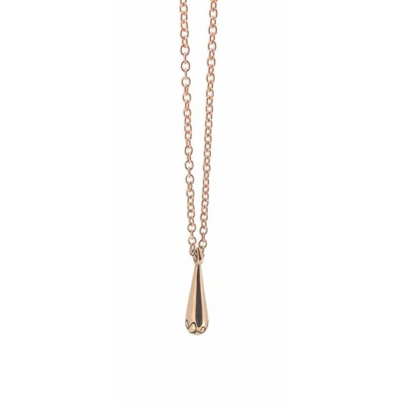 Telkari Drop 9 ct Red Gold Small Pendant