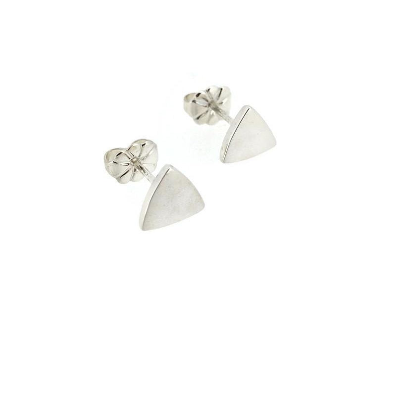 Telkari Trillion  Triangular Plain Studs