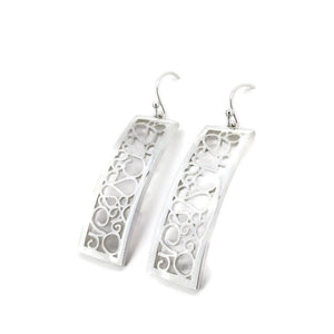 Telkari Rectangular Earrings