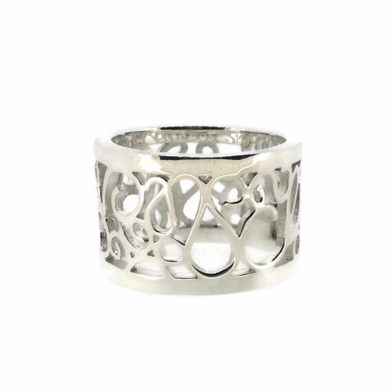 Telkari Rectangular Wide Ring