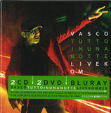 ROSSI VASCO TUTTO IN UNA NOTTE LIVE KOM 2CD-DVD Blueray