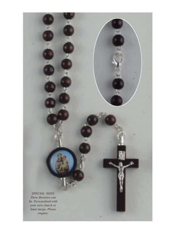 Wood Rosary - S. Anthony