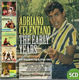 THE EARLY YEARS 1958-1963 - Adriano Celentano 5cd