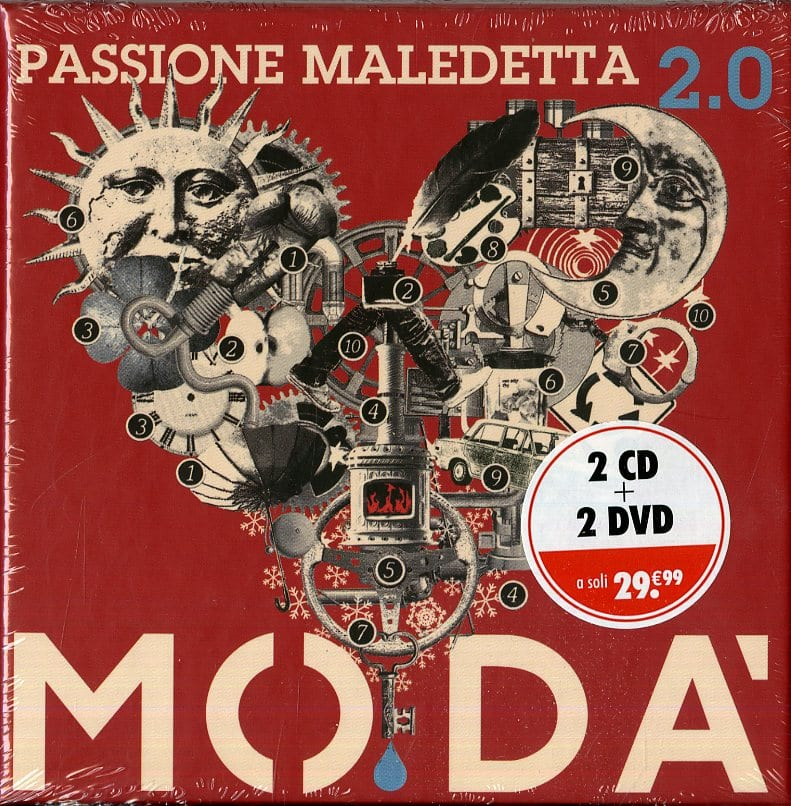 PASSIONE MALEDETTA 2.0 BOX 2CD 2DVD - MODA