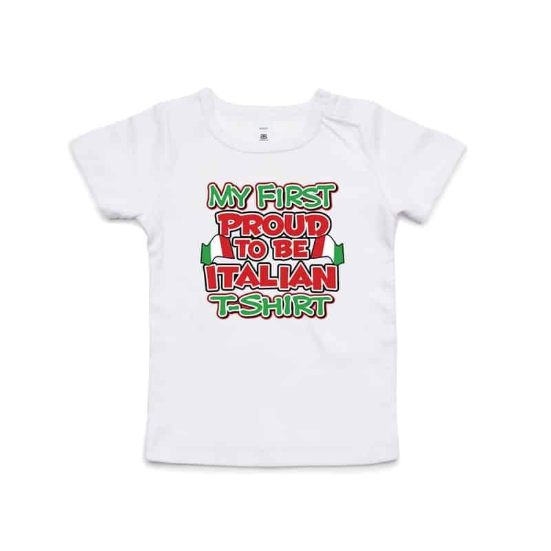 My First Proud to be Italian Wee Tee