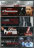 BOX-MAFIA COLLECTION 4DVD Il Testimone - Paolo Borsellino - L Ultimo Padrino - Un Eroe Borghese