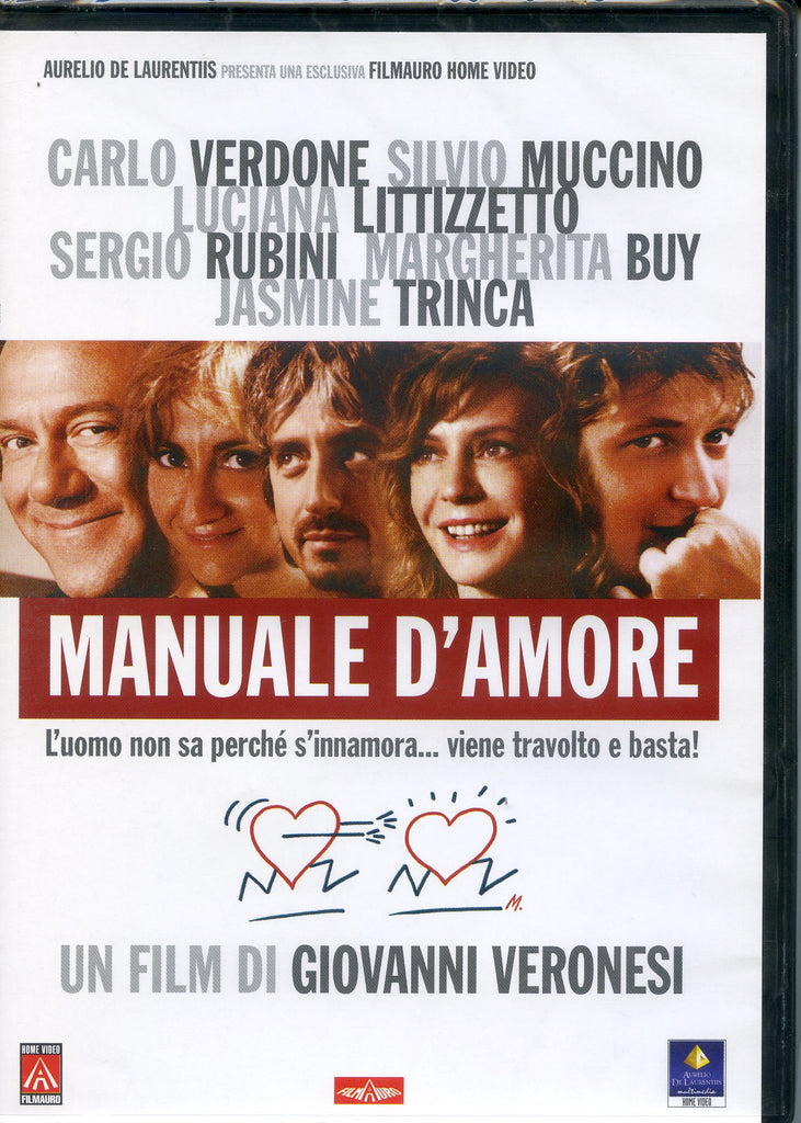 MANUALE D'AMORE - THE MANUAL OF LOVE IMPORT REGION 2