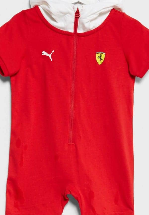 FERRARI SF INFANT RACE SUIT ROSSO CORSA