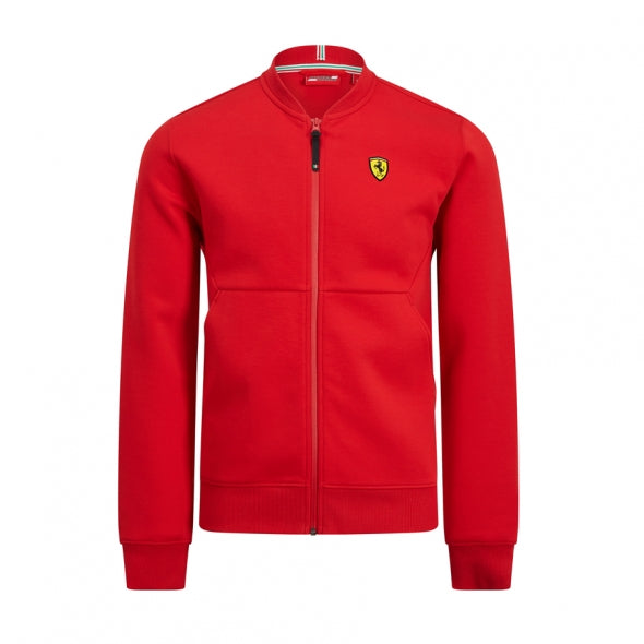 MENS SWEAT JACKET RED