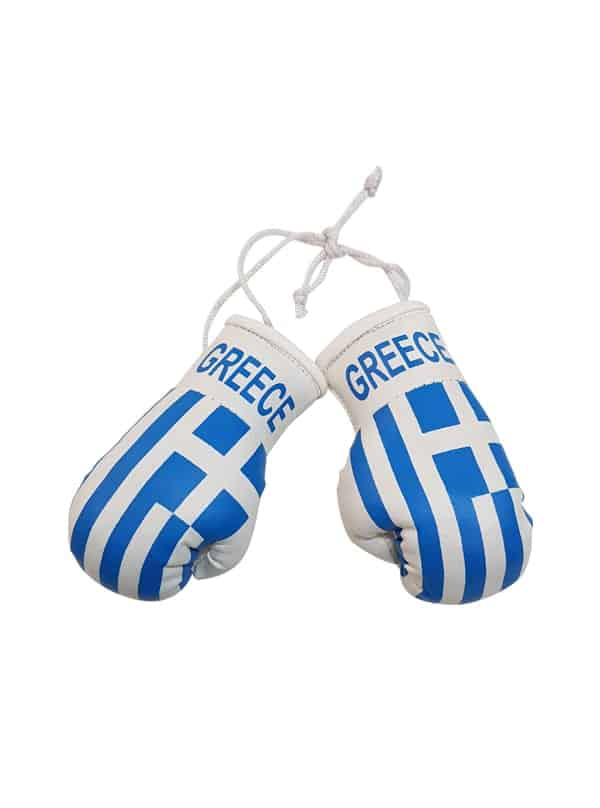 Greece Mini Boxing Gloves