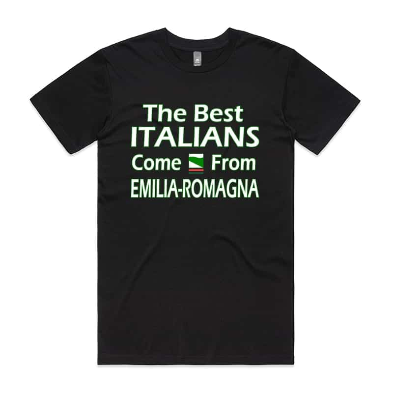 The best Italian come from Emilia Romagna T-Shirt
