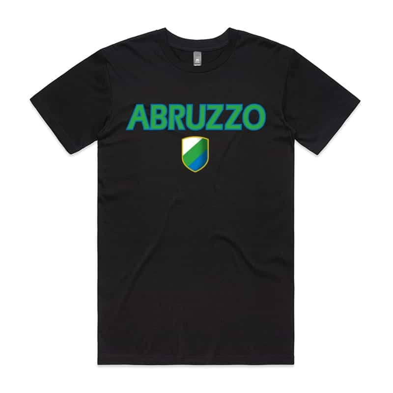 Abruzzo with Shield T-Shirt