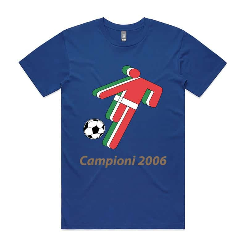 Italia World Cup Campioni 2006 T-Shirt