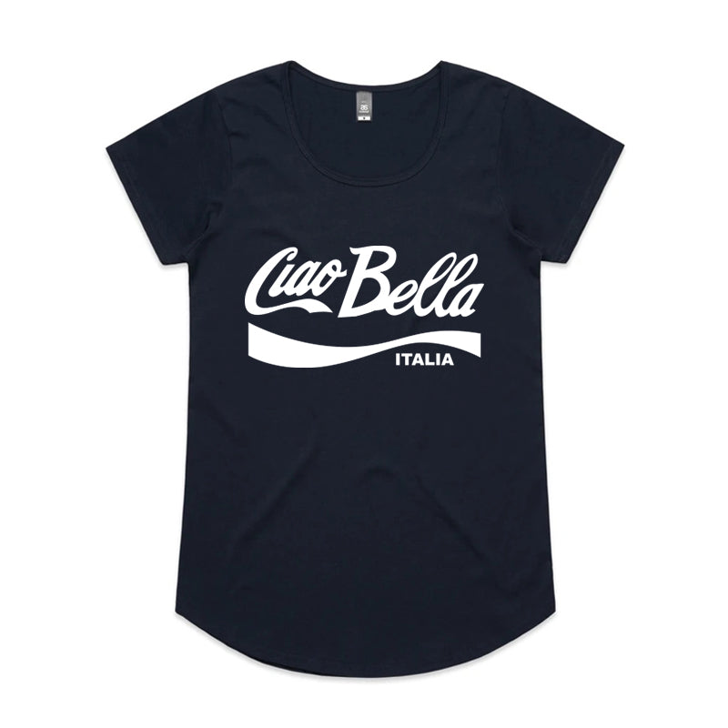 Ciao Bella White T-Shirt