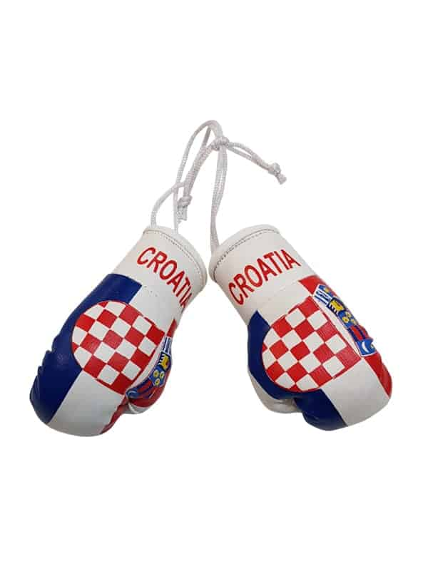 Croatia Mini Boxing Gloves