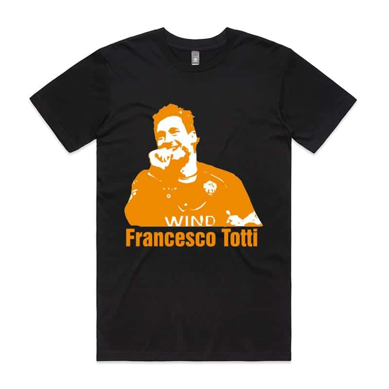 Francesco Totti Orange T-Shirt