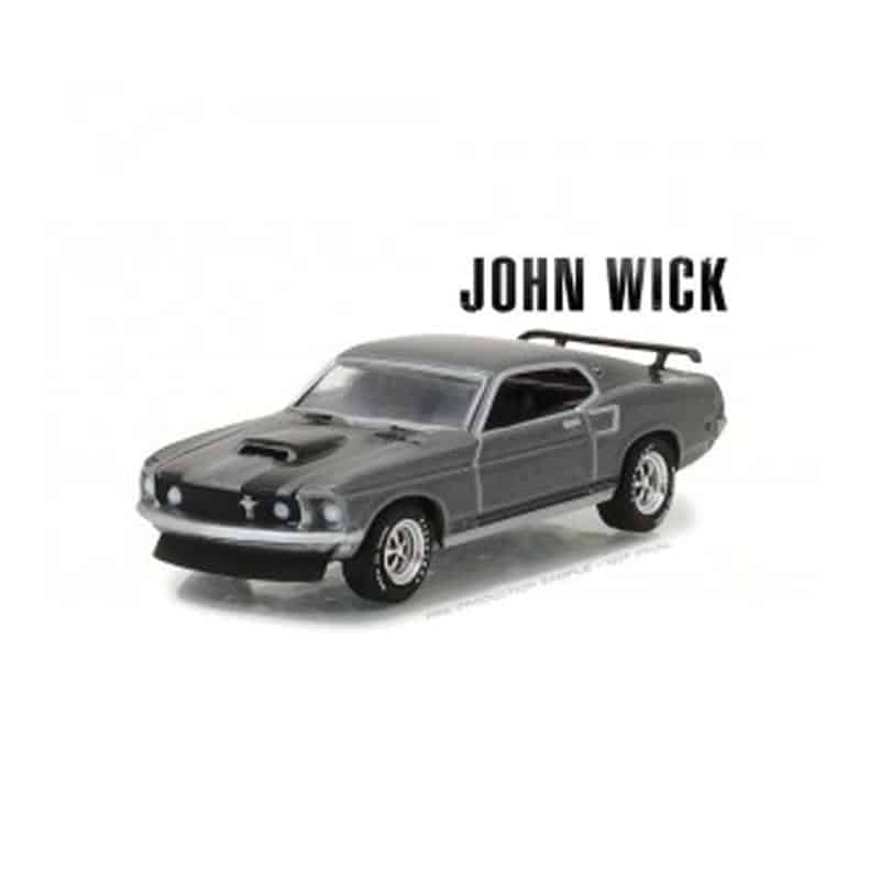 1:64 John Wick 1969 Ford Mustang BOSS 429 Hollywood Series 18 Movie