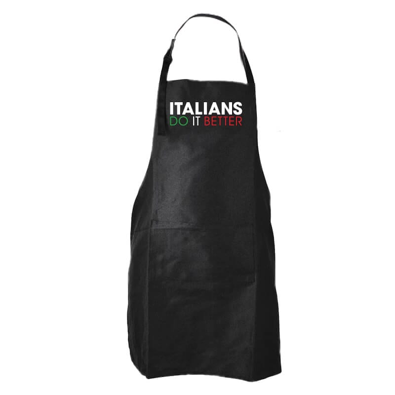 Italians Do It Better Apron