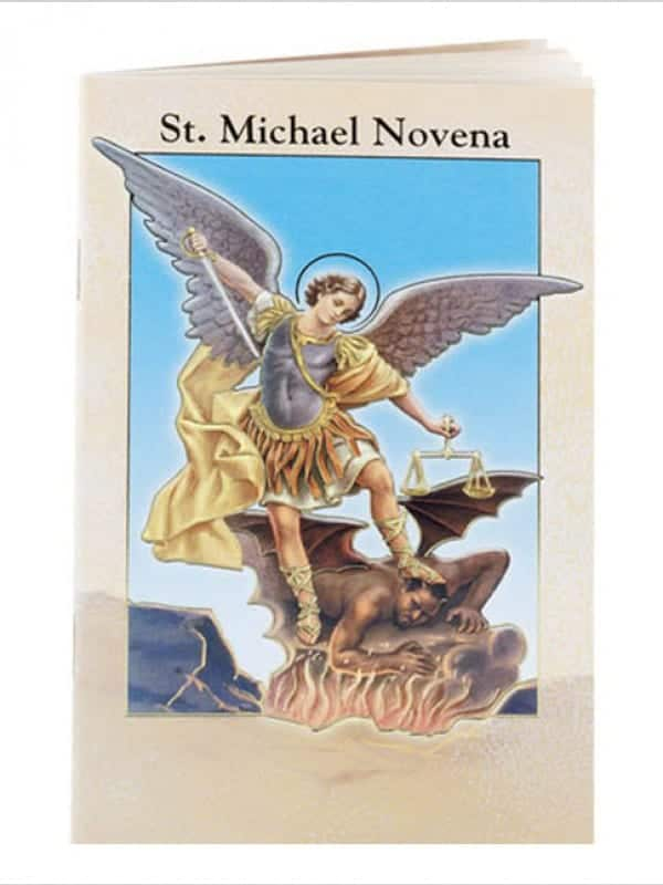 ST Michael  Novena & Prayer Book 24 Pages