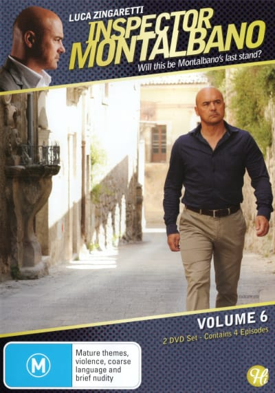 INSPECTOR MONTALBANO VOLUME 6 - 2 DVD SET BOX