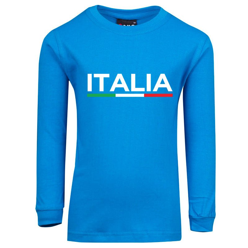 Italia Baby/Kids Long Sleeve Tee