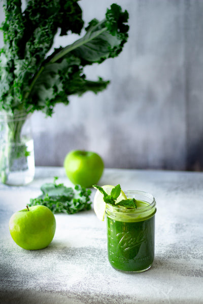 JUGO VERDE: TURBO CON TWIST