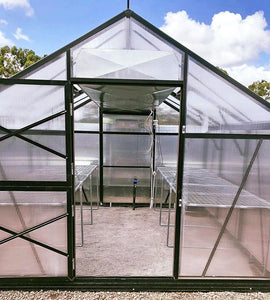 Customised Galvanised Stands - Sproutwell Greenhouses