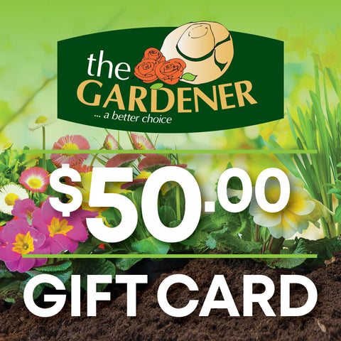 The Gardener Online $50 Gift Card