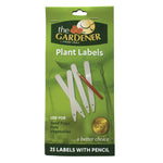 Plastic Plant Labels with Pencil