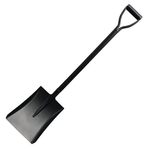 All Steel D-Handle Square Mouth Shovel
