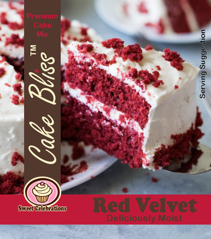 Cake Bliss Red Velvet 500g