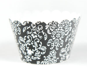 Cupcake Couture Damask Black