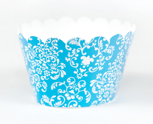 Cupcake Couture Damask Blue