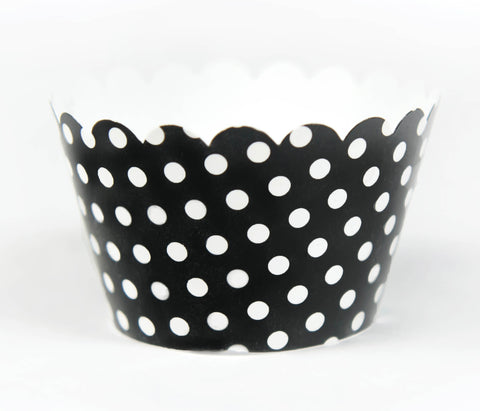 Cupcake Couture Polka Black