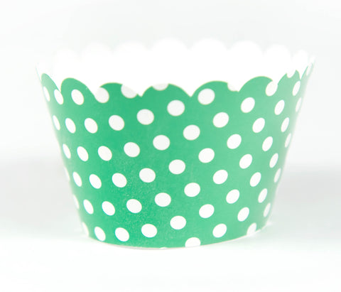Cupcake Couture Polka Green