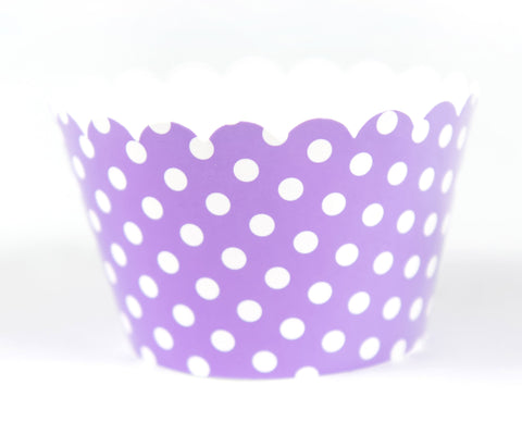 Cupcake Couture Polka Purple